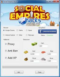 social empires hack